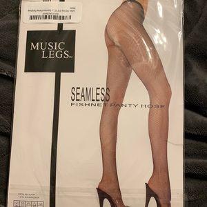 "MUSIC LEGS Panty Hose.SZ: 5'-5'10"" 100-175lbs"